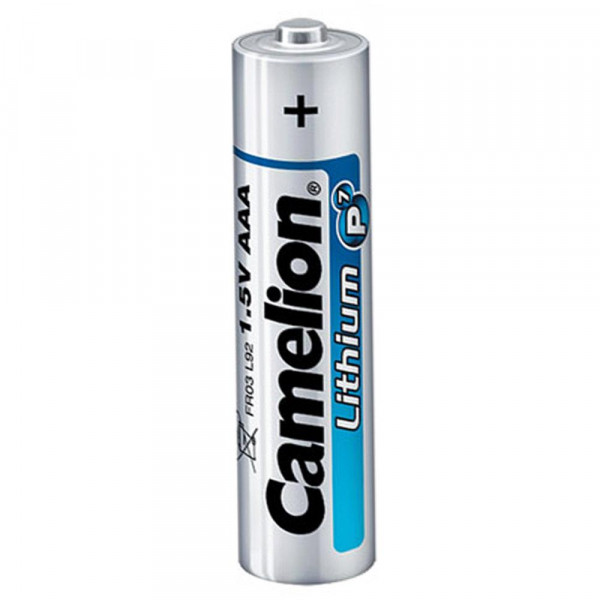 Camelion FR03 Lithium Batterie AAA FR03 - 2 Stück