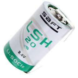 Saft Mono Batterie LSH20 Mono (3,6V) mit Lötfahne in U-Form