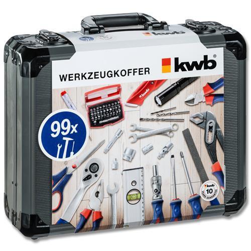 Werkzeugkoffer 99tlg von KWB aus der PROFESSIONAL Serie