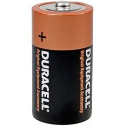 Duracell MN1400 LR14 Batterie Test