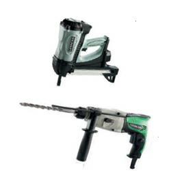 HiKoki Gas-Beton-Nagler NC 40G Gas-Beton-Nagler inkl. Elektronik Bohrhammer DH 22PG