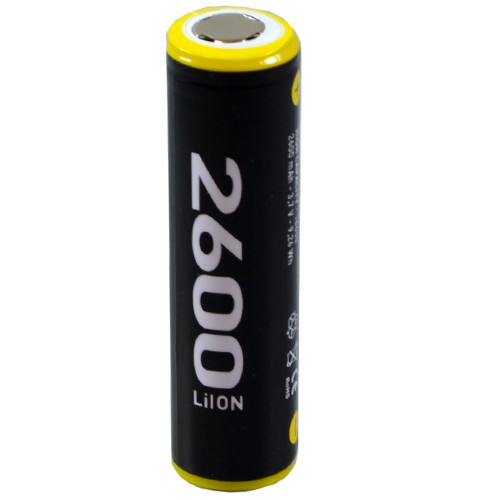 ECELL 18650 Li-Ion incl. PCB 3,7V/2600mAh im Blister