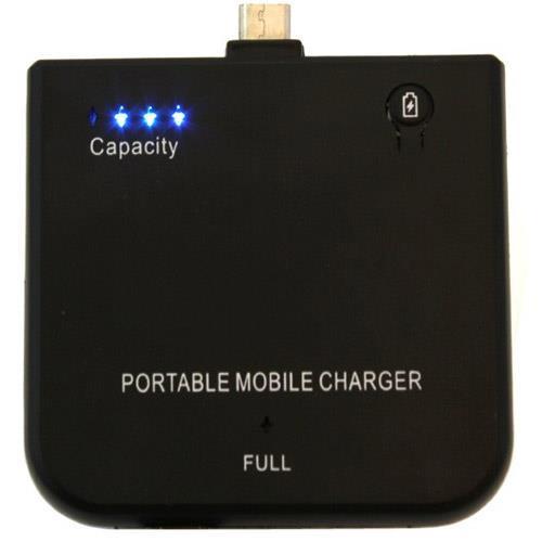 Powerbank Zusatzakku 1900mAh Li-Ion Akku für Smartphone & Tablet