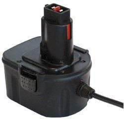 Akku Power Mainsconnector MC-300 APDE-12V ersetzt DeWalt DE9074 und ELU EZWA 49 Akkus