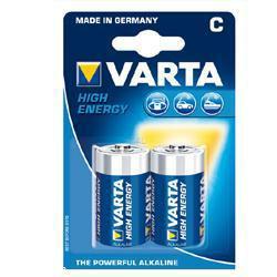 VARTA Standard Batterie Baby 4914 Energy 1,5Volt 7800mAh im 2er Blister