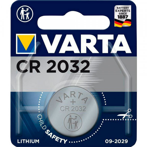 VARTA Lithium-Knopfzelle CR2032 3,0Volt 230mAh