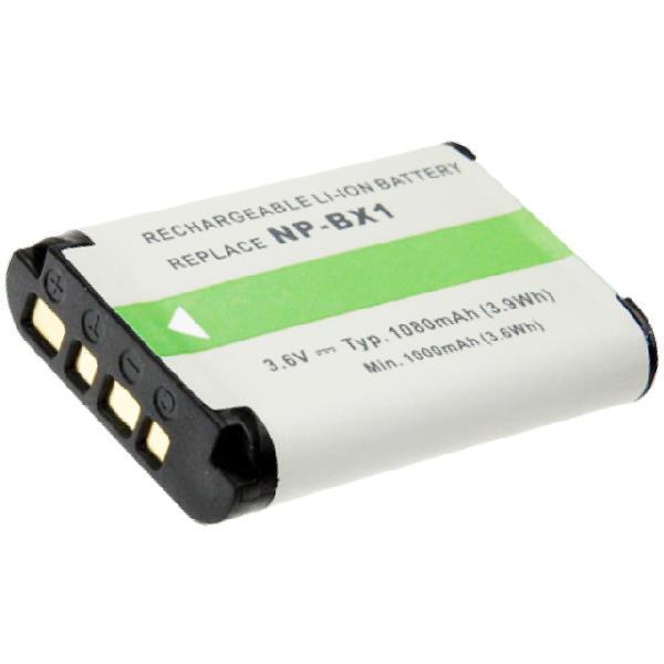 Akku passend für Sony NP-BX1 3,7 Volt 1000mAh Li-Ion (kein Original)