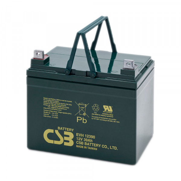CSB EVH12390 Bleiakku 12V 39Ah