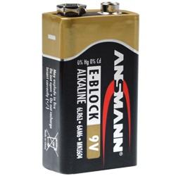 Ansmann 9V X-Power Block Batterie Test, erreichte Zeit: 265 Min.