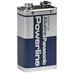 Panasonic 9V Powerline E-Block Batterie Test