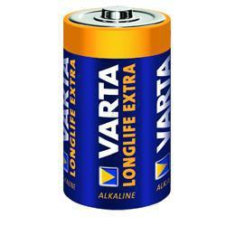 Varta 4120 Longlife Extra, Tray 1,5 Volt 8000mAh Mono Batterie