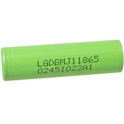 LG INR18650MJ1 Test, erreichte Zeit: 49 Min.