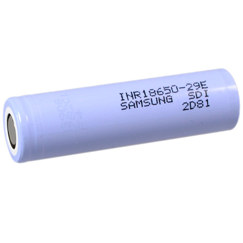 Samsung SDI INR18650-29E Li-Ion Zelle 3,6V 2,90Ah