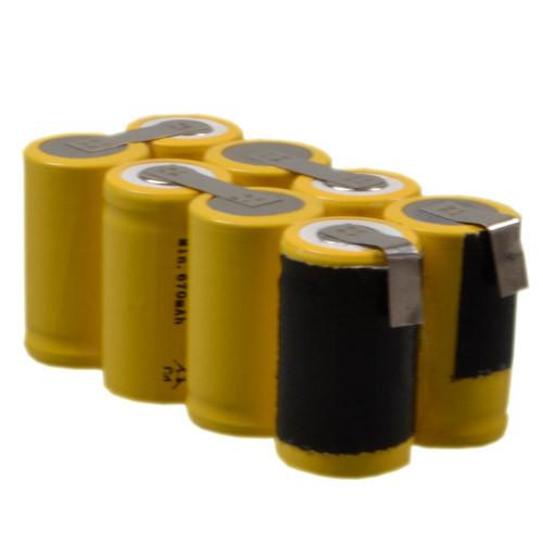 Ersatz-Akku-Pack für Rolleiflex SLX, Rollei 6006, 6008 NiMH Akku 9,6V