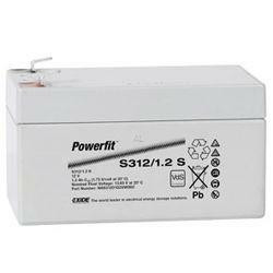 Exide Powerfit Bleiakku S312/1.2S 12,0Volt 1,2Ah mit 4,8mm Steckanschlüssen