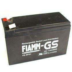 Fiamm Bleiakku FG20722 12 Volt 7,2 Ah mit 6,3mm Steckanschlüssen