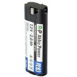 Akku passend für Bosch 2 607 335 175 mit 7,2V 3,0Ah Ni-MH