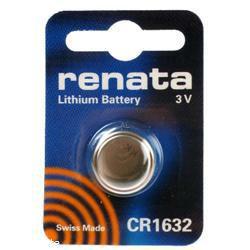 Renata CR1632L Knopfzelle LiMnO2 3,0Volt 125mAh