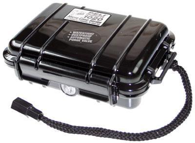 PELI 1020 Koffer, Micro Case, schwarz