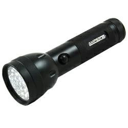 Ampercell MultiLED 28 LED-Taschenlampe aus Aluminium in Schwarz