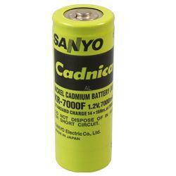 Sanyo KR-7000F NICD Akku 1,2Volt 7.000mAh ohne Lötfahnen