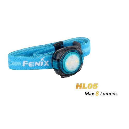 Fenix HL 05 LED Kopfleuchte Modell 2016 Baby Blue
