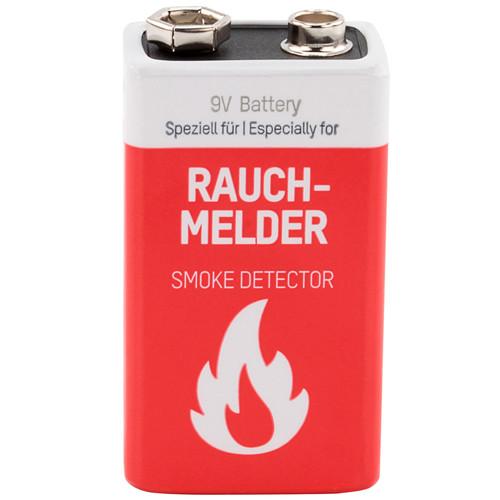 Ansmann Lithium 9V-Block Rauchmelder-Batterie