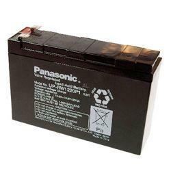 Panasonic Hochstrom Bleiakku UP-VW1220P1 12,0Volt 4,0Ah mit 6,3mm Steckanschlüssen