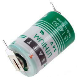 Saft Mignon Batterie LS142502PF 1/2AA, 2er Print