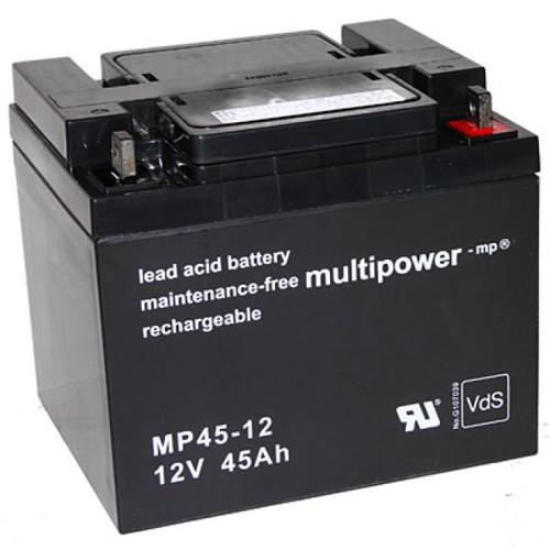 MultiPower Bleiakku MP45-12 12,0Volt 45Ah mit M6-Schraubanschluss
