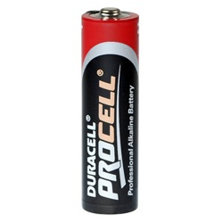 Duracell Procell AA Batterie Test