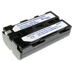 Akku passend für Hitachi VM-E520E 7,2Volt 2.200mAh Li-Ion (kein Original)