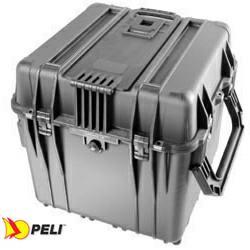 Peli 0344 Schutzkoffer Cube Case, schwarz mit Einteilungssystem