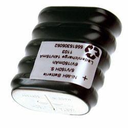 Varta Knopfzellenakku 5/V150H Säule 6,0Volt 150mAh NiMH 5er Säule