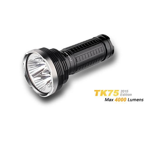 Fenix TK75 Cree XM-L2 U2 LED Taschenlampe mit 4.000 Lumen und 650 Meter Leuchtweite.