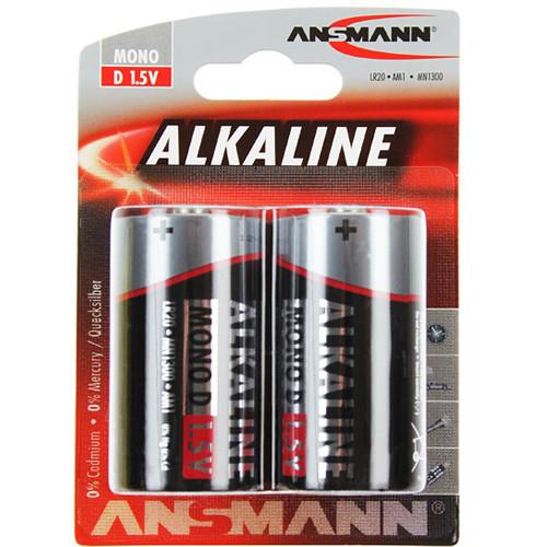 Ansmann Red Alkaline D-Mono LR20 Batterie im 2er Blister