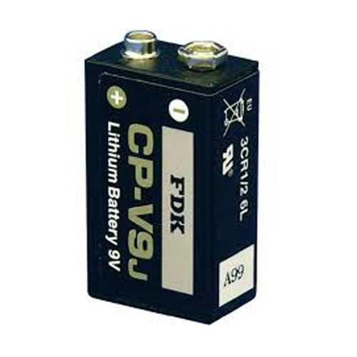 FDK CR9V / CP-V9J Lithium 9V E-Block Batterie