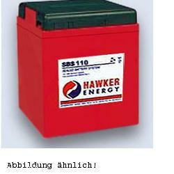 Hawker Bleiakku Enersys PowerSafe 6SBS110 6,0Volt 115.000mAh mit M8 Schraubanschluss
