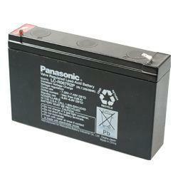 Panasonic Bleiakku LC-R067R2P 6,0Volt 7,2Ah mit 4,8mm Steckanschlüssen