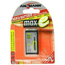 Ansmann Max-E Akku 9 Volt E-Block 200mAh