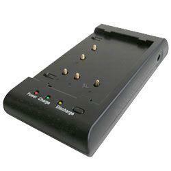 Schnell-Ladegerät passend für Panasonic VW-VBS10E, VW-VBS20E