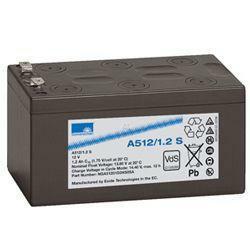 Exide Sonnenschein Bleiakku Dryfit A512/1.2S 12,0Volt 1,2Ah mit 4,8mm Steckanschlüssen