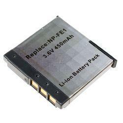 Akku passend für Sony NP-FE1 3,6Volt 400mAh Li-Ion (kein Original)