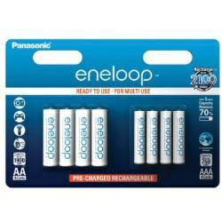 Panasonic Eneloop Akku AA / AAA Combi Pack - 2x4er-Blister (BK-KJMCCE44E)