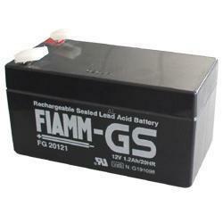 FIAMM Bleiakku FG20121 12 Volt 1,2 Ah mit 4,8mm Steckanschlüssen