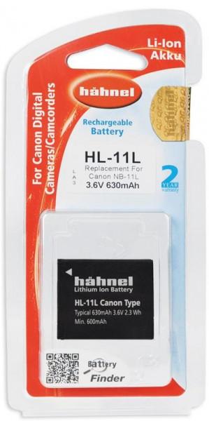 Hähnel Akku passend für Canon NB-11L 3,7Volt 630mAh Li-Ion (kein Original)
