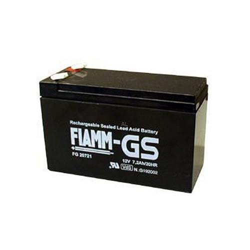 FIAMM Bleiakku FG20721 12,0 Volt 7,2 Ah mit 4,8mm Steckanschlüssen