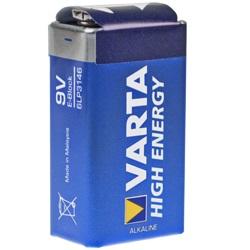 Varta High Energy 9V Batterie Batterie 4922 / 6LP3146 Test