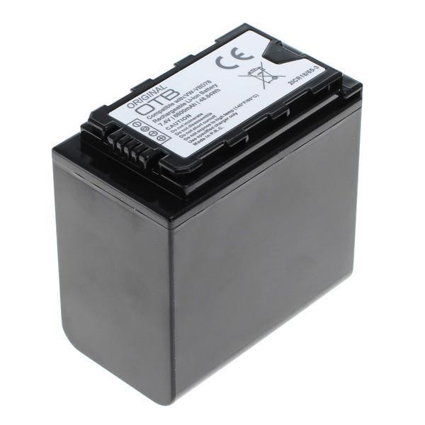 OTB Akku passend für Panasonic VW-VBD78 7,4Volt 6600mAh Li-Ion (kein Original)