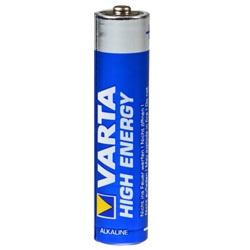 Varta High Energy Micro AAA Test, erreichte Zeit: 60 Min.